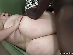 Major BBW Interracial BBC Anal