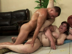 Horny black-haired is a great cock pleaser