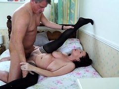British housewife Eva Jayne fucking and