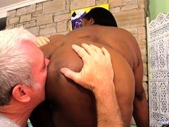 Black Plumper Olivia Leigh Hot Massage