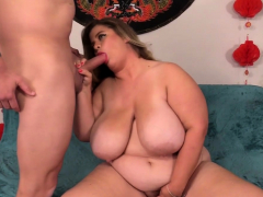 Fat Cougar Hayley Jane Takes a  Manstick