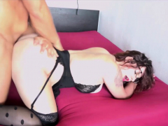 GERMAN SAGGY TITS HOOKER Teen Fucked and his Mate film it