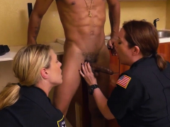 Milf  dildo xxx Black Male squatting in home gets our
