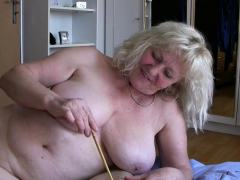 OldNannY Buxom Ladies Playing With Puny Stiffy