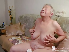 OmaGeiL Real Granny  Pussy Closeup Video