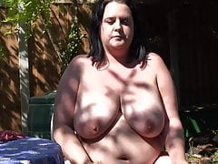 Big big-chested mom needs a great pound