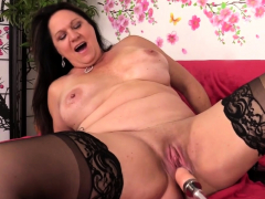 Mature Leylani Spear Lusts for a Machine