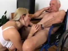 Young plumper in grannies pantyhose Feet fetish