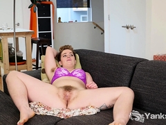 Megan Fae has got the curves of a true goddess. She slides