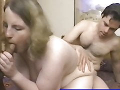 obese girl screwed by hubby and buddy