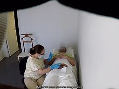 Real Examination (Female doctor Male patient)
