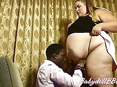 Giantess Diva BabydollBBW Entertains a Purchaser