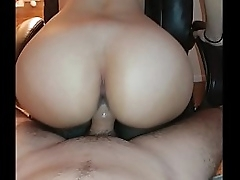 PAWG Unreal Hot Riding Absolute Loot Big Ass On Chair