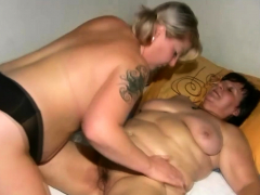 Lesbians Sexual connection More Dominate Granny