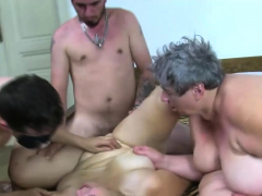 Group Sex Doting Granny