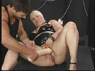 German BBW - Fist - Purl - Assfuck ROUGH