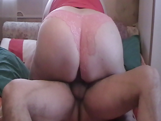BBW rides increased by fucks doggystyle