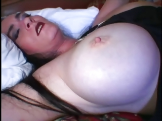 Sexy Raven beamy titty BBW latin slut fucked with the addition of spunked