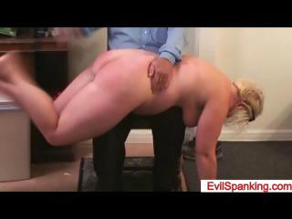 Firm spanked big ass