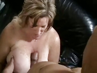 Hot Honcho BBW Cougar Banged Beyond Chaise longue