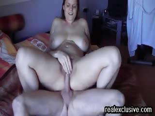 squirting culminate my wed Lotte after a creampie