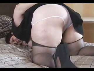 Busty Heavy Assed hairy Mature BBW Spreads