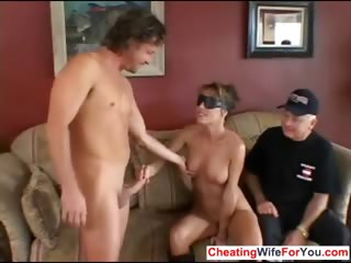 House wife get special facial