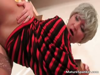 Great penurious body nice breech MILF old bag part2