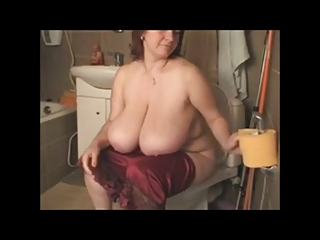 BBW Milf Redhead with Huge Boobs #2