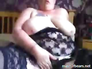 Orgasm of Busty BBW Victoria outsider Wales