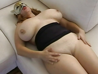Hot doll with saggy juggs