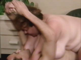 Vintage BBW Melanie Anton with Huge Boobs