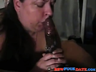 Fat Housewife Suck with oodles be required of saliva spiting