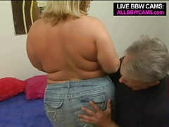 Cute Sporty Plus-size Blond Giant Ass Part 1