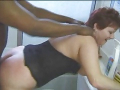 Mature Big Tit Redhead Gets A Bit Of BBC