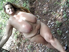 Stellar Sarah outdoors
