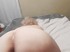 ASS UP Fucktoy USED ON HER