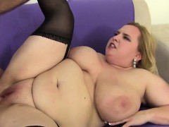 Humungous Boobed fat pussy plowed