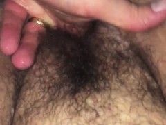 Natural big girl pours out and squirt Carleen from 1fuckdatecom