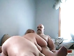 Cheating wife throating and  me hard