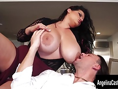 Cuban Italian Pornstar Three-way with Angelina Castro
