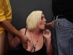 Spunky yam-sized babe blonde blowbangs 6 Heike from dates25com