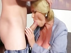 Yam-sized  Assistant Enjoys Fuck And Internal cumshot