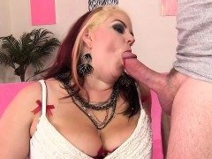 Supah hot BBW Buxom Bella  with fat shaft